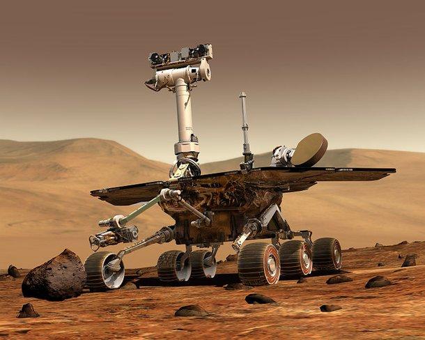 Vehículo espacial del planeta Marte