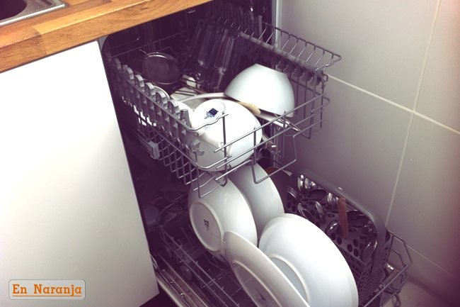 ahorro electrodomésticos cocina - lavavajillas