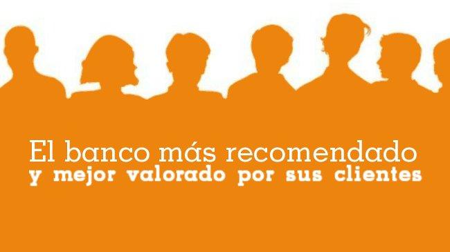 Los clientes recomiendan el Fresh Banking de ING DIRECT