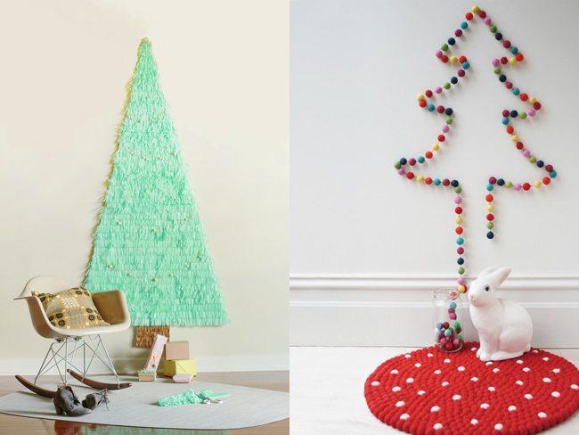 Cinco rboles de navidad para ahorradores en naranja ing - Arbol de navidad hecho de luces ...