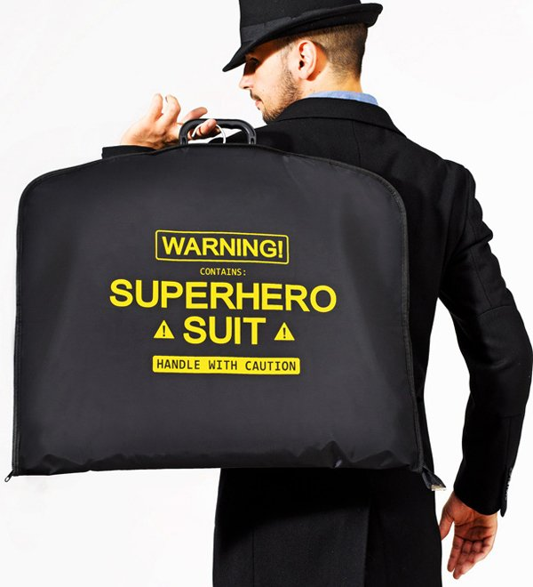 Portatrajes Superheroe