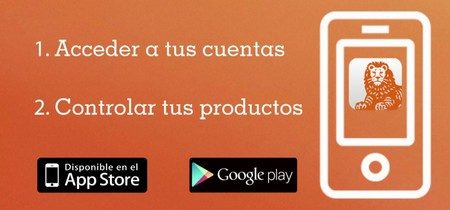 App de ING DIRECT para móvil