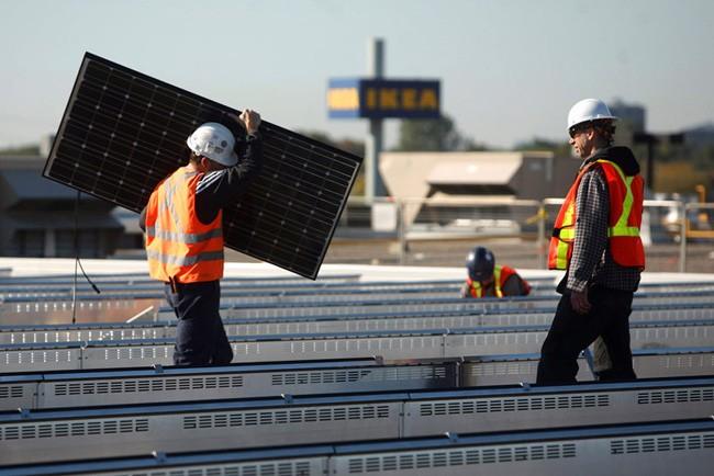 Paneles solares Ikea - 1