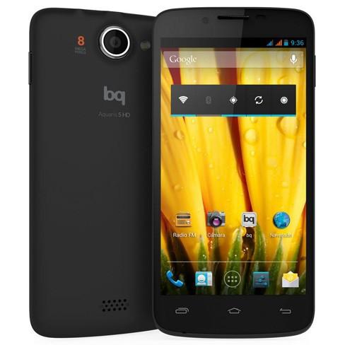 Smartphones por menos de 200 euros - Bq Aquarius