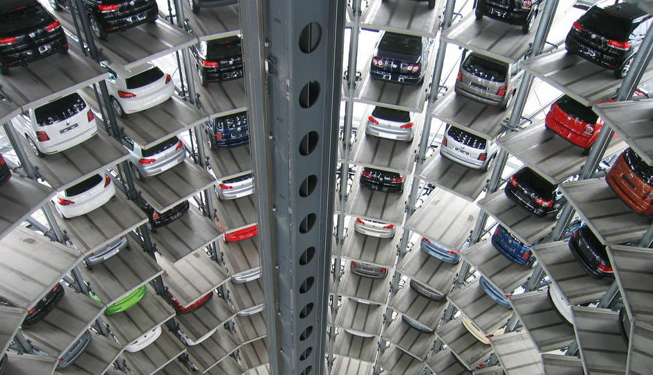Revolución apps aparcamiento parking coche