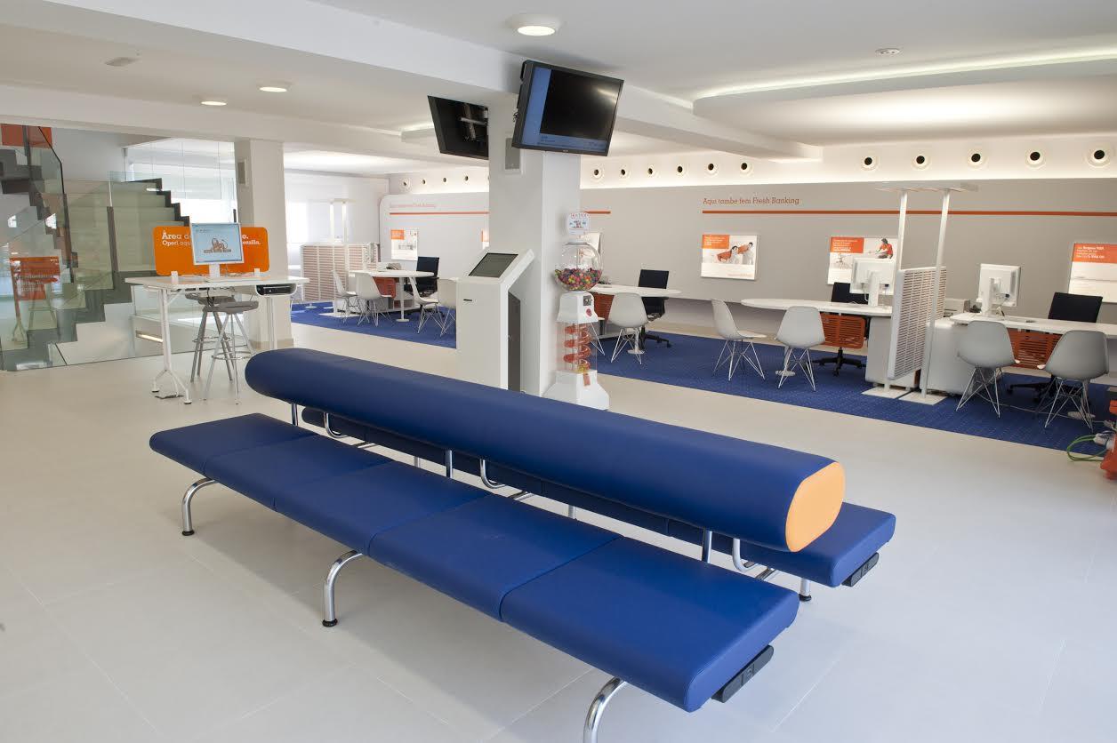 Descubre las oficinas naranja las oficinas que abren por for Oficinas de ing