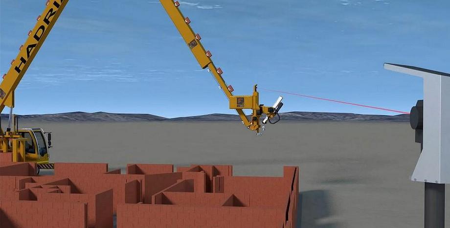 Robot que construye casas