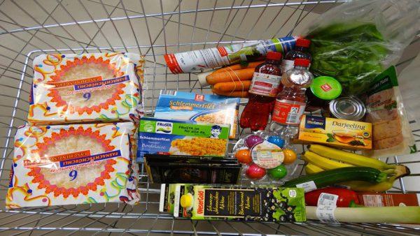 ahorro en la cesta de la compra