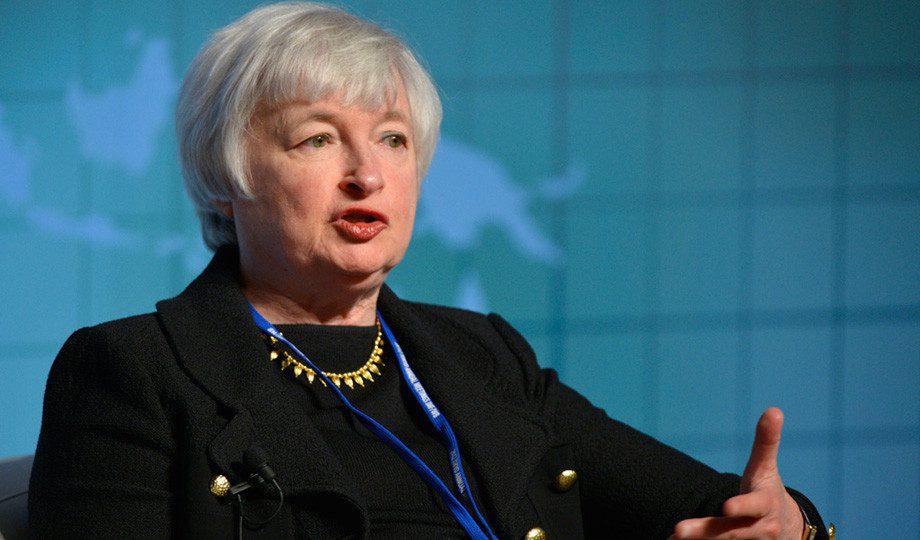 Janet Yellen, presidenta de la Reserva Federal de EEUU