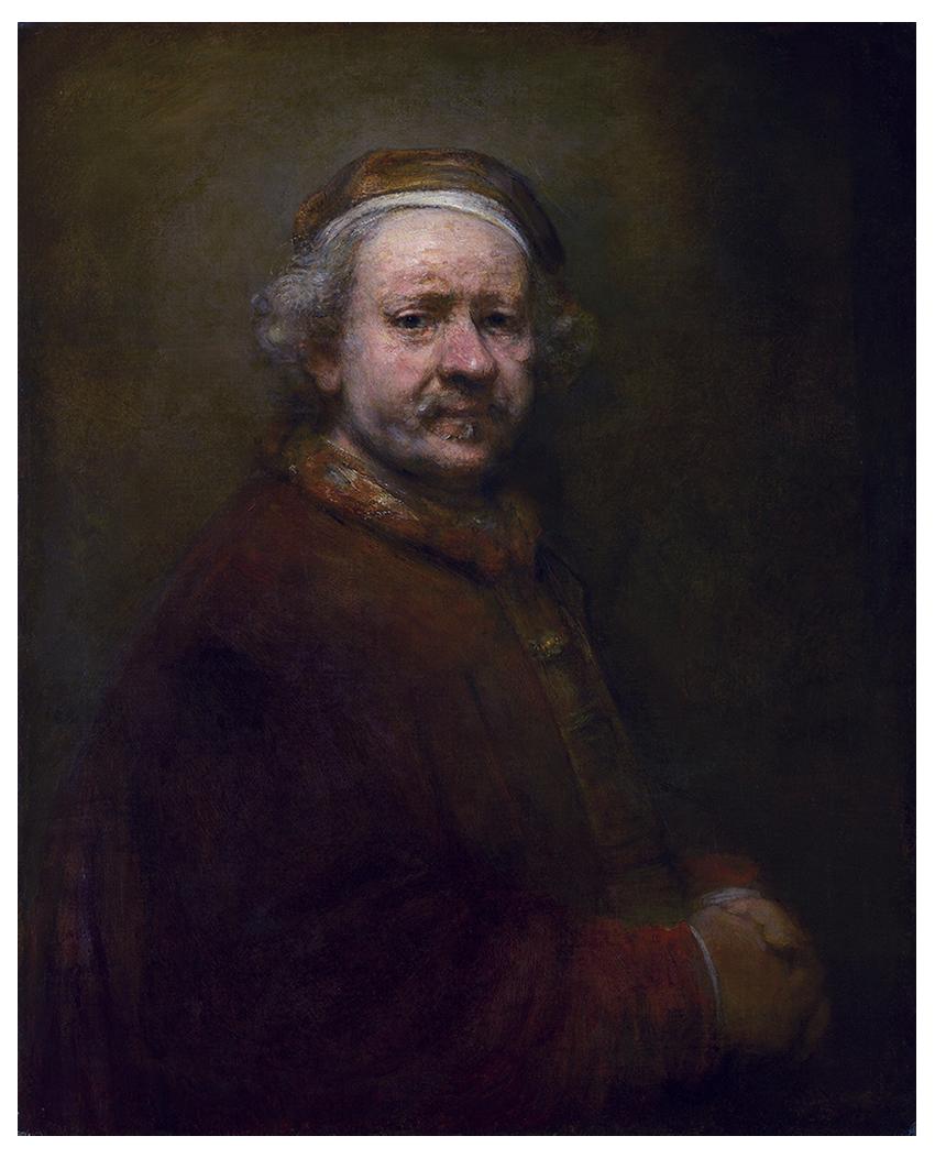 Autorretrato de Rembrandt - 1669