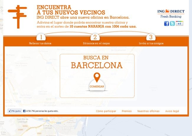 Encuentra a tus nuevos vecinos de ing direct y entra en el for Oficinas ing direct barcelona