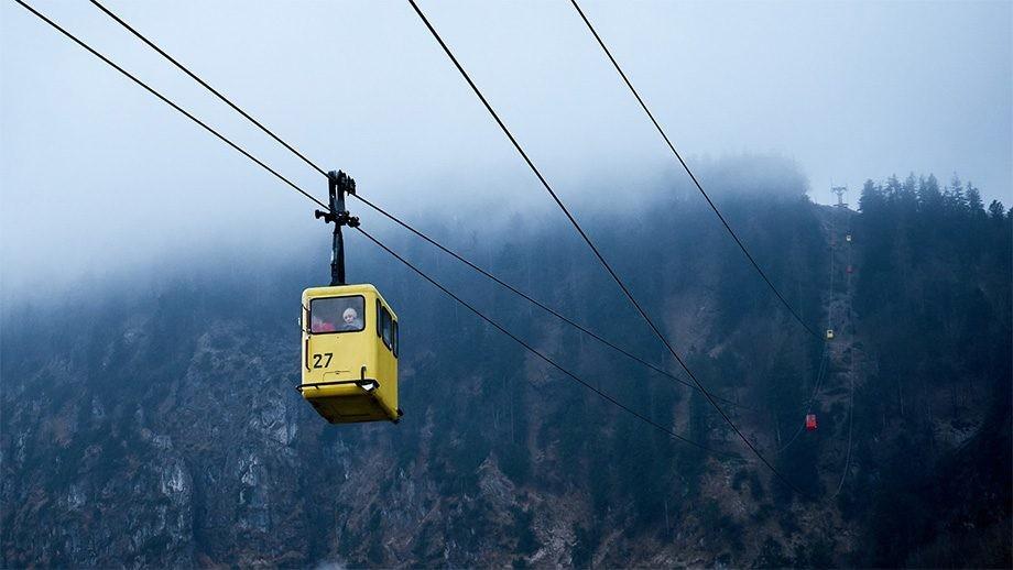 El primer teleférico del mundo se instaló en San Sebastián