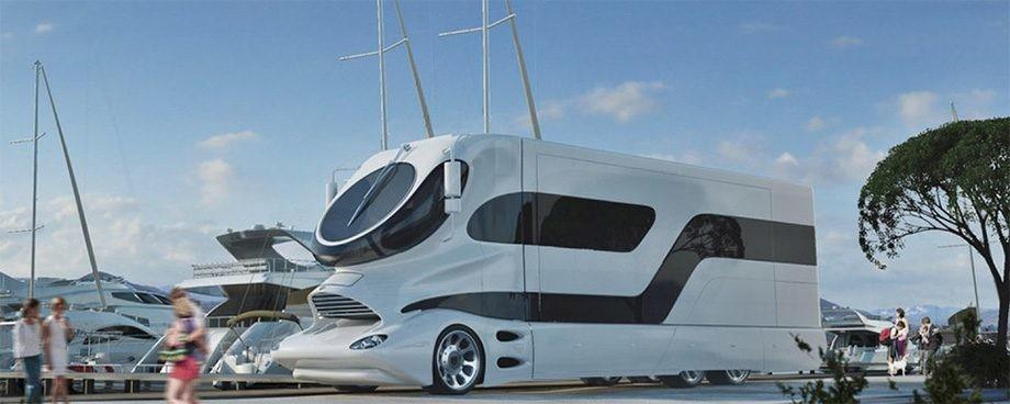 Autocaravanas para viajar: de lujo