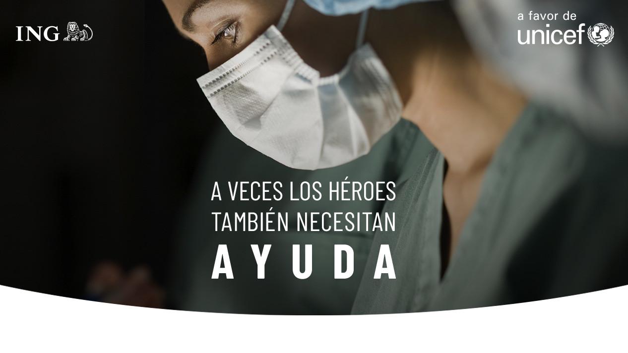 Campaña de ayuda para el coronavirus de UNICEF