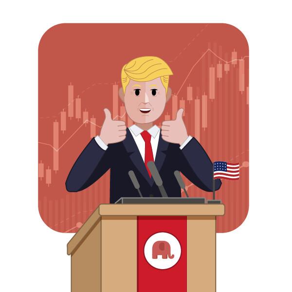 Elecciones estados unidos bolsa trump