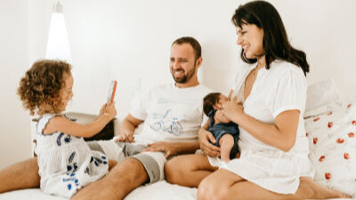 Familia en la renta