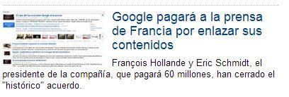 Google en RTVE
