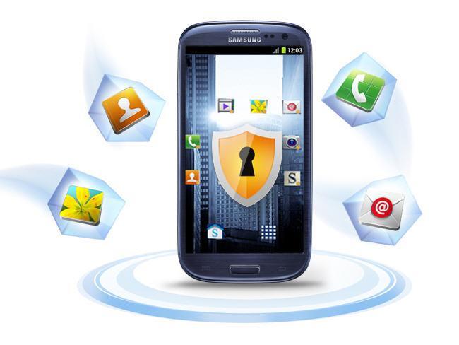 Móvil con KNOX Samsung