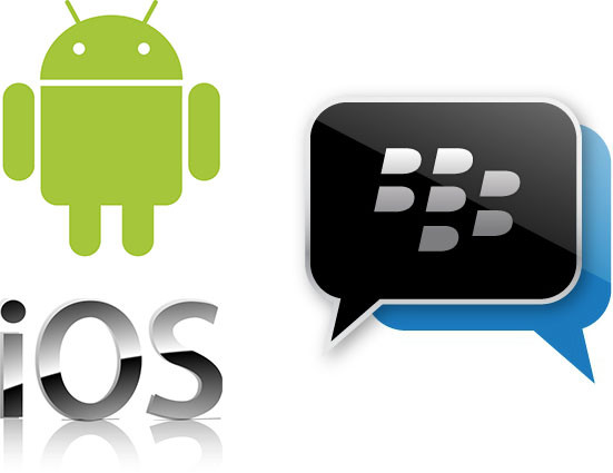 BLackberry messenger Android iOs