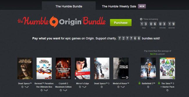 Humble Bundle Origin