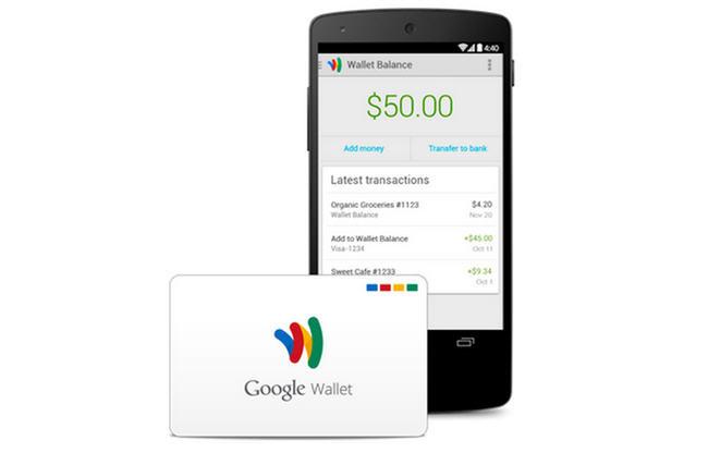 Google Wallet tarjeta de débito