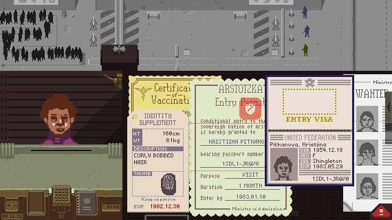 Papers Please captura
