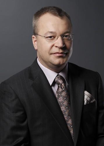 Elop CEO de Nokia