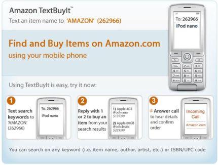 Amazon Text buyit