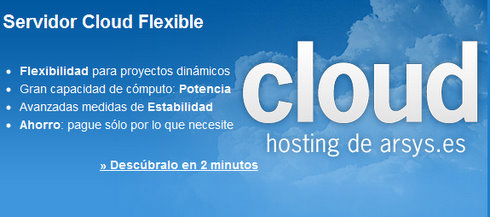 Arsys Cloud hosting