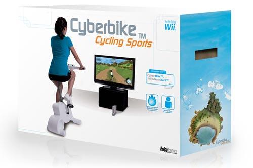 Bici estática para la Wii
