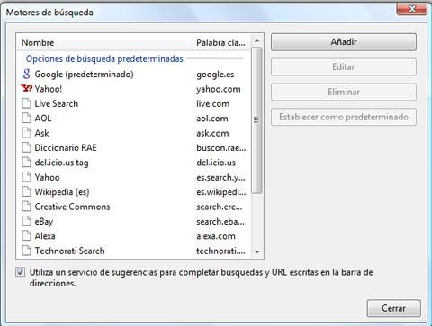 Buscador en Chrome