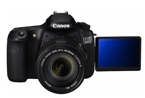 Cámara digital Canon 60D