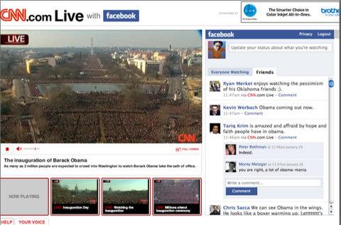 CNN integrada con Facebook