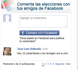 Facebook Connect en el Mundo