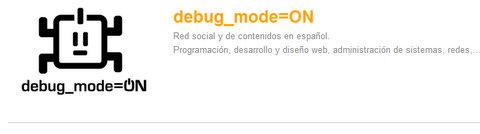 debug mode=ON