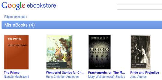 Tienda libros Google