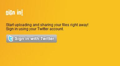 Identificación con Twitter