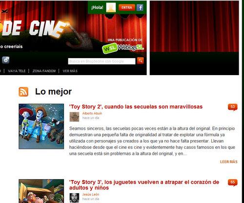 Lo mejor de blog de cine
