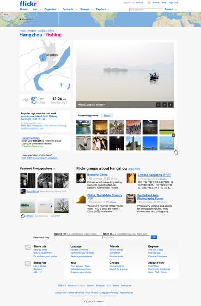 Lugares Flickr