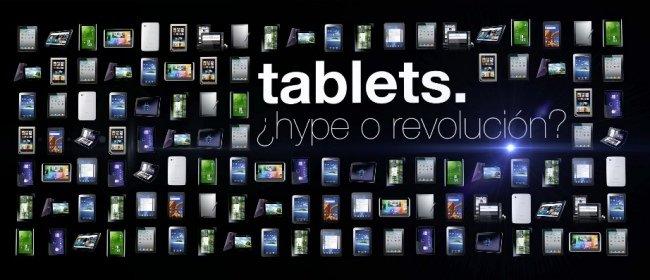 mesa de tablets