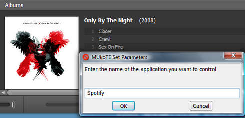 Mukote para Spotify