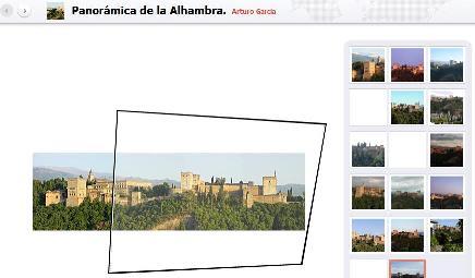 Panoramio Alhambra