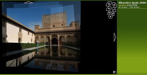 Photosynth Alhambra