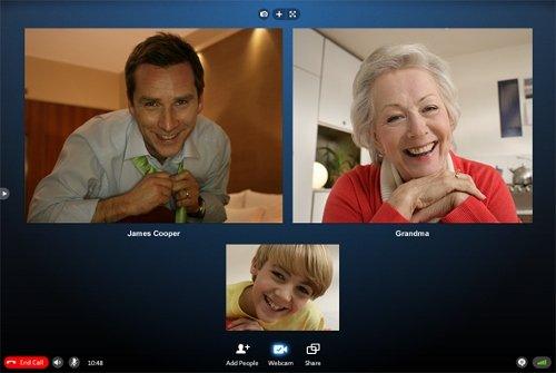 Videconferencia en grupo con Skype