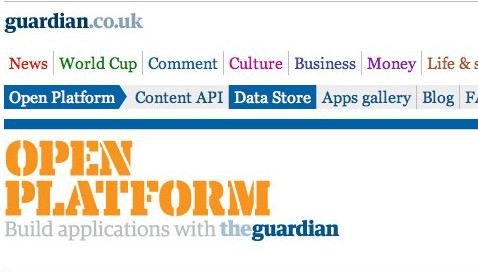 The Guardian Open Plataform