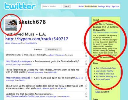 Twitter Myspace