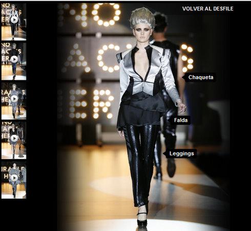 Yoox desfile moda
