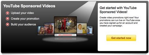 Vídeos patrocinados en Youtube