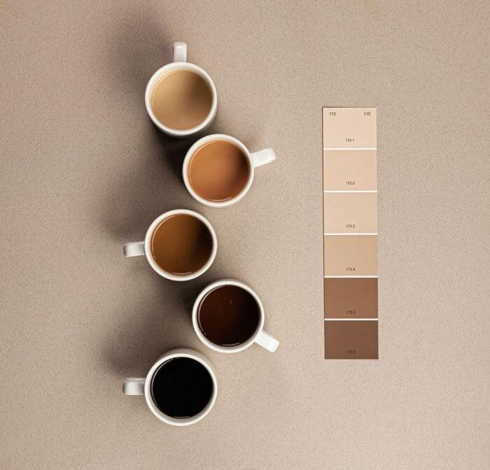 flujo marron cafe