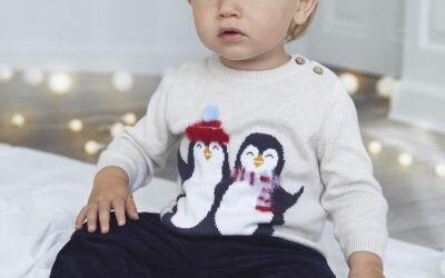 Bebés listos para afrontar (y disfrutar) el frío: los abrigos, jerséis y gorros que no pueden faltar en su armario